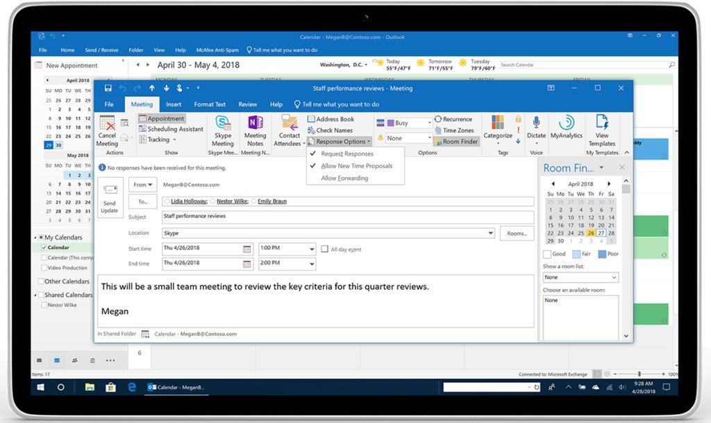 https://www.microsoft.com/en-us/microsoft-365/blog/wp-content/uploads/sites/2/2018/04/Image-3-_Outlook_Calendar-No-forwarding-Megan_Tablet_m1-1024x609.png